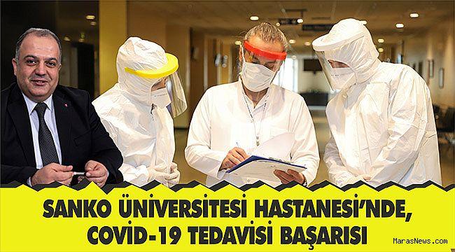 SANKO Üniversitesi Hastanesi'nde, Covid-19 tedavisi başarısı