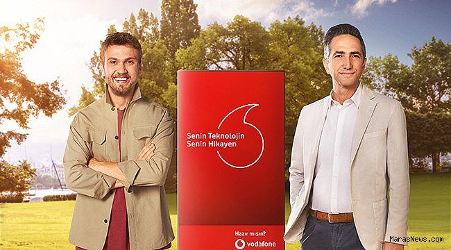 Sevilen Sanatçı Aras Bulut İynemli, Vodafone'un yeni reklam yüzü oldu