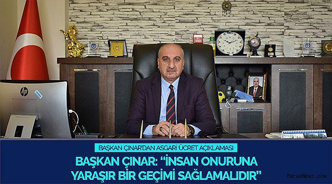Başkan Çınar: