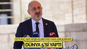 Öztunç: AKP, Afşin-Elbistan'ı Hava Kirliliğinde Dünya 5.'si Yaptı