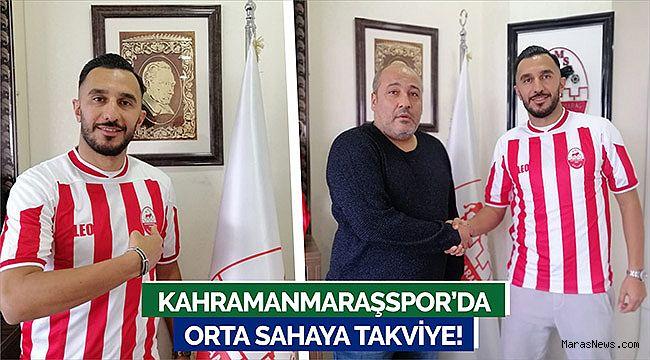 Kahramanmaraşspor'da orta sahaya takviye!