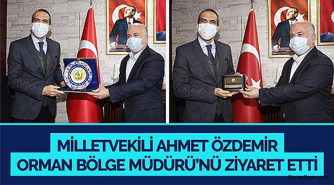 Milletvekili Ahmet Özdemir Orman Bölge Müdürü'nü ziyaret etti