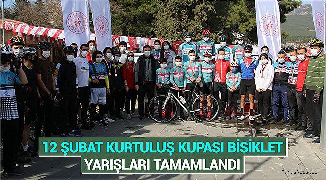 12 Şubat Kurtuluş Kupası Bisiklet yarışları tamamlandı