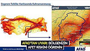 AFAD'tan uyarı: bölgenizin afet riskini öğrenin