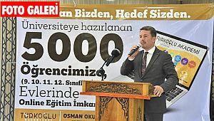 Türkoğlu Belediyesi'nden 5 bin öğrenciye online eğitim imkanı