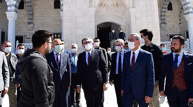 AK Parti Grup Başkanvekili Mahir Ünal, Kahramanmaraş'ta