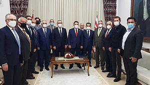 Başkan Güngör, TBB Heyeti ile KKTC'de