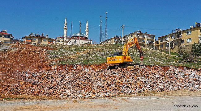 Büyükşehir'den Göksun'a Yeni İtfaiye Binası