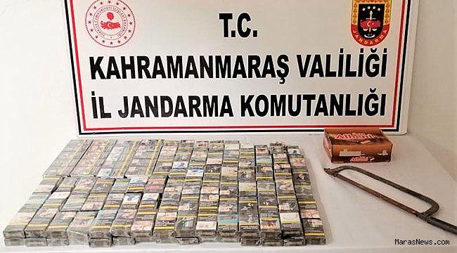 Kahramanmaraş'ta sigara hırsızları serbest bırakıldı