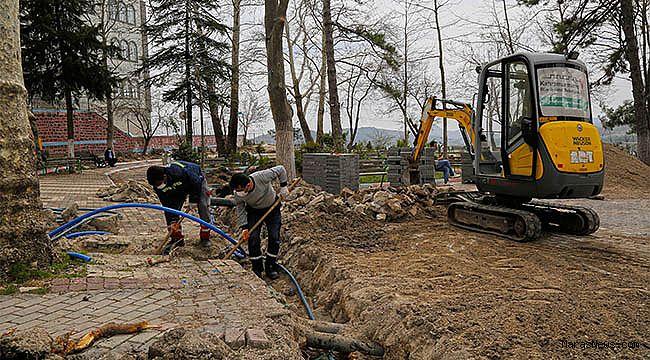 Kışla Bahçesi Büyükşehir'le Yenileniyor