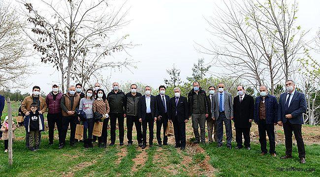 KSÜ'de, Dünya Ormancılık Haftası Kapsamımda Fidan Dikim Etkinliği Düzenlendi