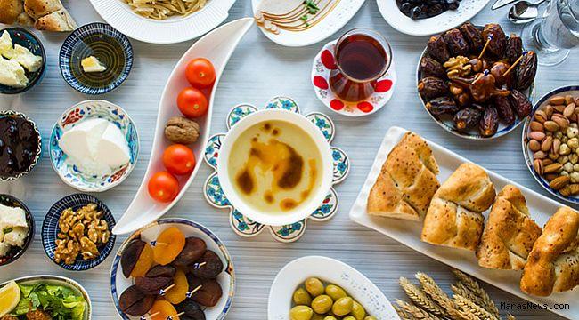 Sağlıklı iftar tabağı için 8 öneri!