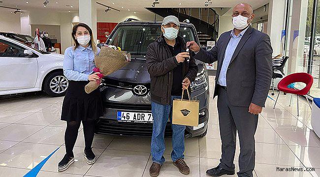 Toyota'nın yeni hafif ticari modeli Proace City Kahramanmaraş'da ilk sahibine teslim edildi