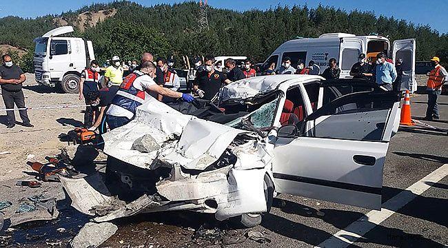Kahramanmaraş'ta feci kaza: Aynı aileden 4 kişi hayatını kaybetti