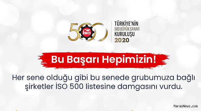 Kipaş Holding İSO 500'de Yine Zirvede