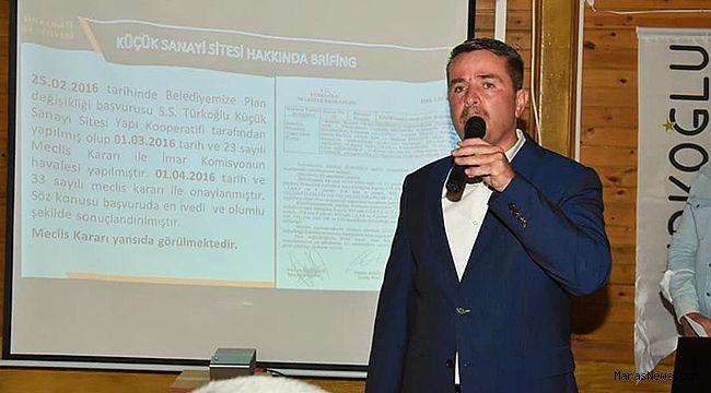 """Başkan Okumuş: """"Türkoğlu'na yakışır bir sanayi sitesi olacak!"""""""
