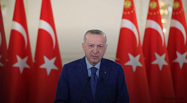 """Cumhurbaşkanı Erdoğan: """"Büyük ve güçlü Türkiye'nin inşasını tamamlama konusunda kararlılığımız katidir"""""""