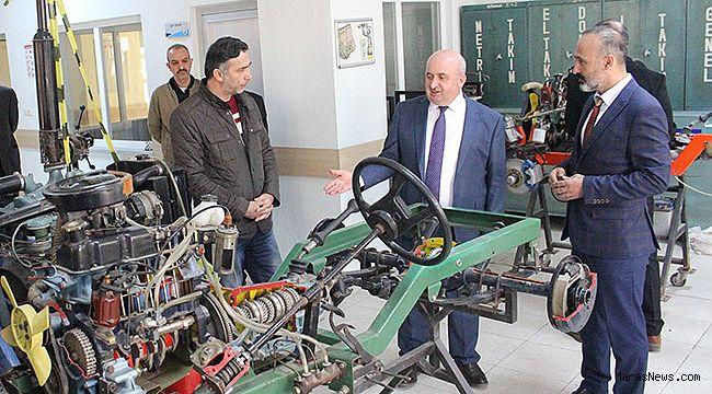 Mesleki ve Teknik Eğitim Okulları güçlendiriliyor