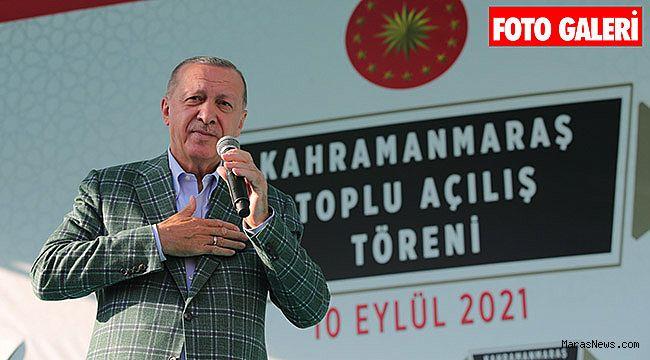 """""""19 yılda Kahramanmaraş'a 38 katrilyon lira tutarında yatırım yaptık"""""""