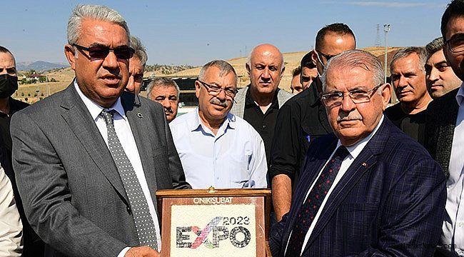 Başkan Mahçiçek Expo Alanında Esnaf Odaları Başkanlarıyla Buluştu