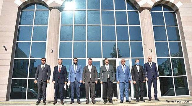 Kahraman'dan Türkoğlu'na seri ziyaretler