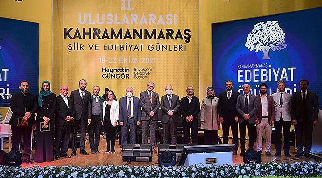 Muhteşem Gecede Kahramanmaraş Edebiyat Ödülleri Sahibini Buldu!