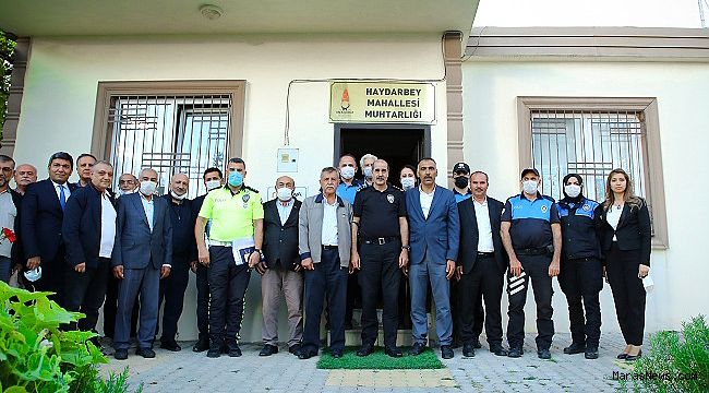 Salim Cebeloğlu'dan Muhtarlara ziyaret