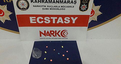 Ecstasy Satıcısına suçüstü!
