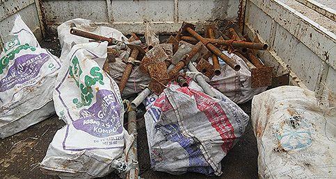 Demir hırsızları Pazarcık polisine takıldı